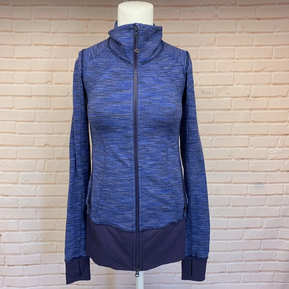 446470784 Lululemon Size 2 Micro Striped Jacket